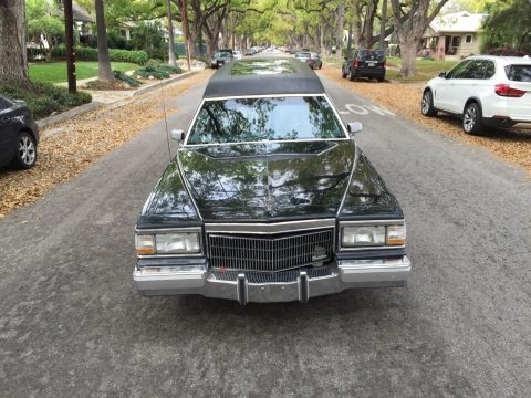 converted 1991 Cadillac Brougham hearse for sale