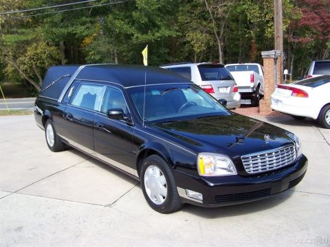 flawless 2000 Cadillac Deville hearse for sale