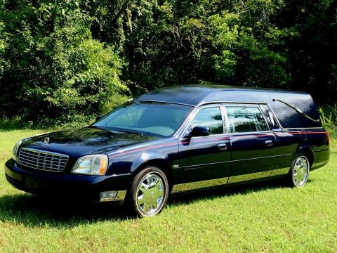 great condition 2005 Cadillac Deville Eagle hearse for sale