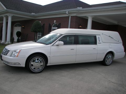 low miles 2008 Cadillac S&S Hearse for sale