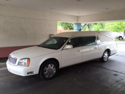very clean 2004 Cadillac Eureka Brougham hearse for sale