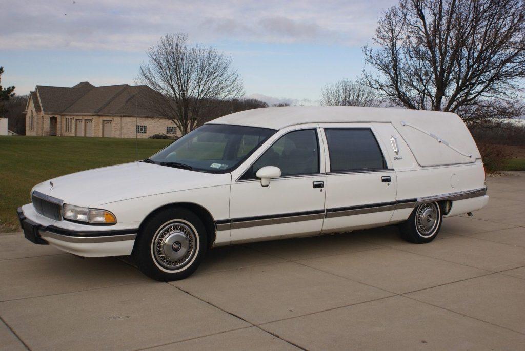 good condition 1994 Buick Roadmaster hearse