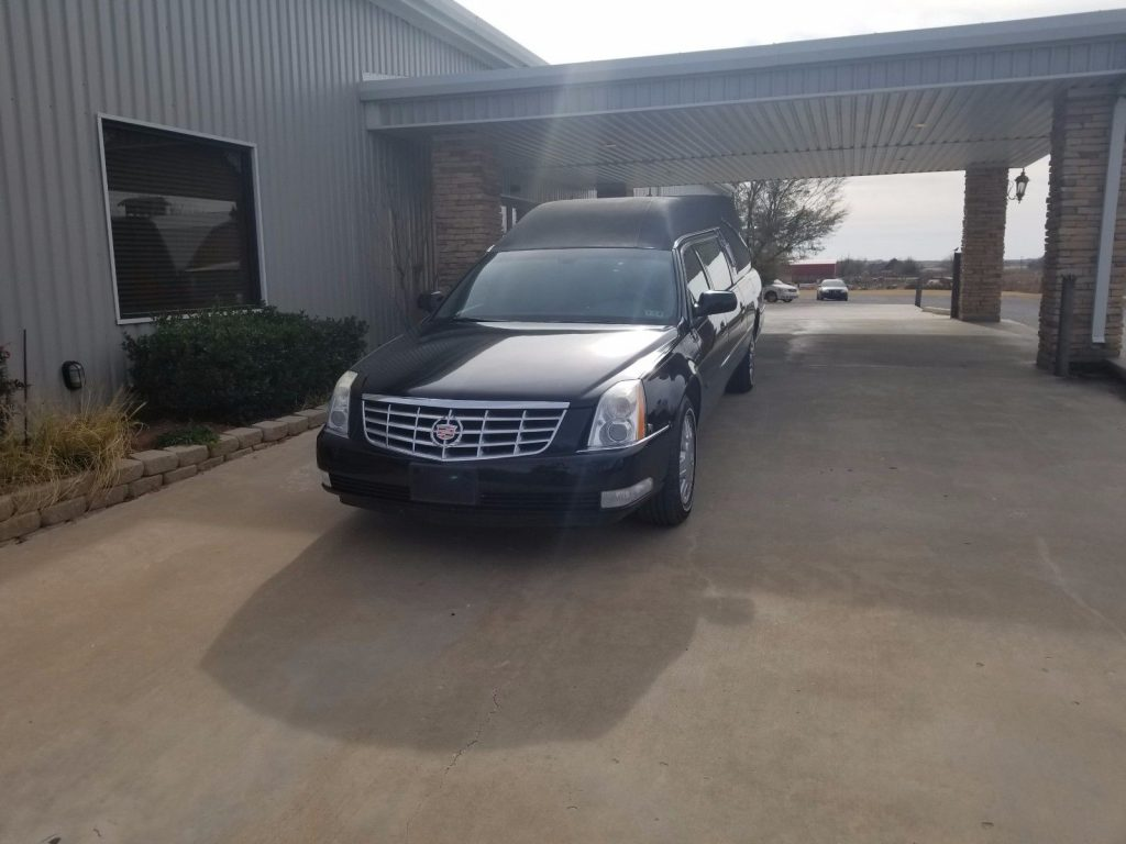 great condition 2007 Cadillac CCH Federal hearse
