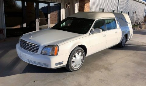 great running 2001 Cadillac Hearse for sale