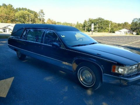 low miles 1994 Cadillac Fleetwood S&S hearse for sale
