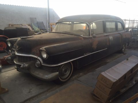 needs work 1954 Cadillac 60 Superior Hearse for sale