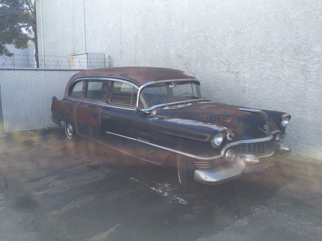 needs work 1954 Cadillac 60 Superior Hearse