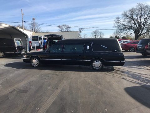 no issues 1997 Cadillac S&S Masterpiece Hearse for sale