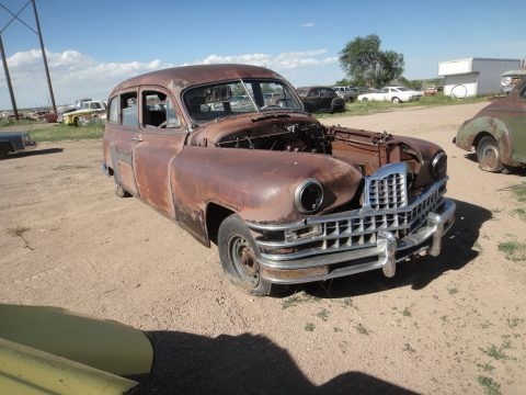 not running 1948 Packard 200 Henney hearse for sale