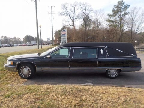 unique 1996 Cadillac Fleetwood Sayers and Scoville hearse for sale