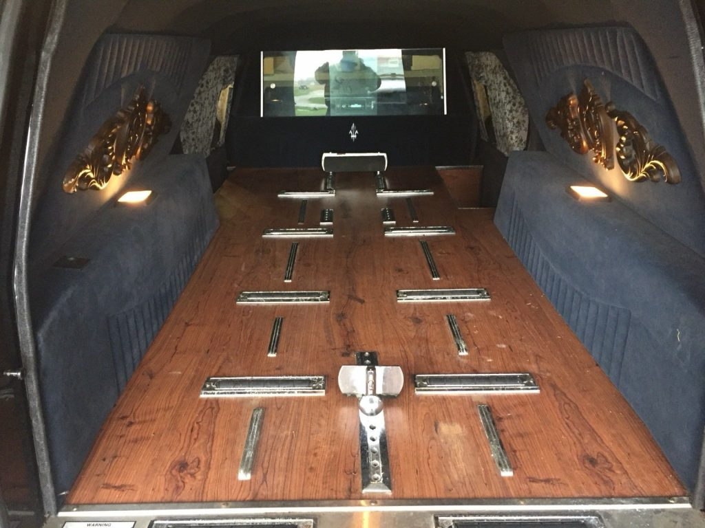 Impala front end 1992 Buick Roadmaster Superior hearse