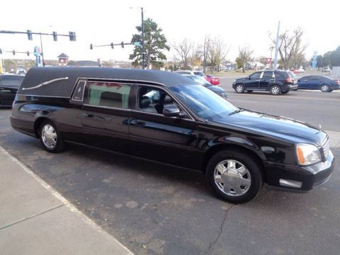 Professional 2000 Cadillac Deville HEARSE for sale