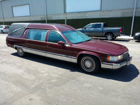 great shape 1994 Cadillac Fleetwood hearse for sale