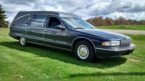 low miles 1995 Chevrolet Caprice Classic hearse for sale