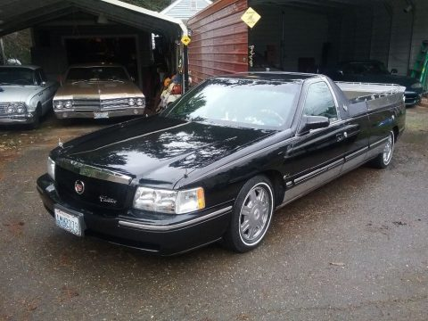 needs brake service 1997 Cadillac Hearse Flower car for sale