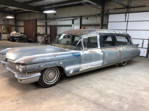 Very rare 1960 Cadillac Fleetwood Eureka Hearse for sale