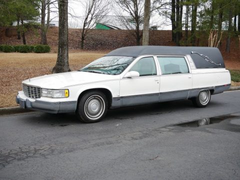 well cared for 1996 Cadillac Fleetwood M&M Hearse for sale