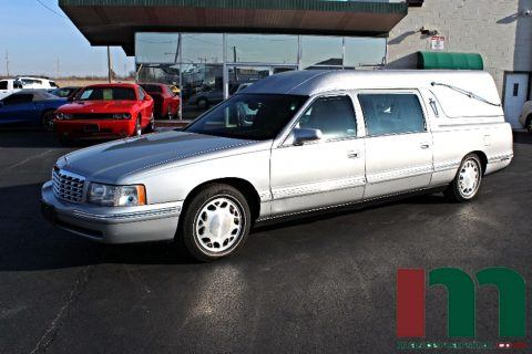 well maintained 1998 Cadillac Deville Federal Coach Hearse for sale