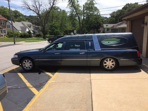 garaged 2007 Lincoln Eagle hearse for sale