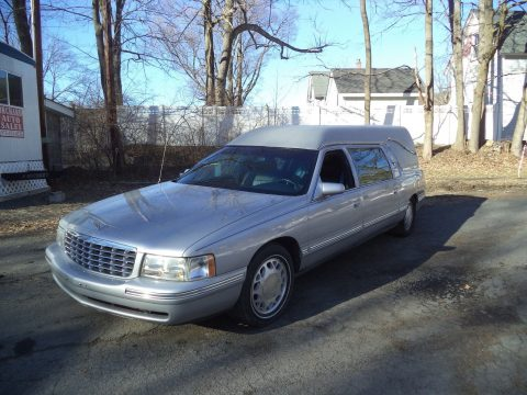 low miles 1999 Cadillac hearse for sale