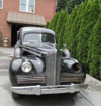 survivor 1942 Packard Henney Hearse extra parts for sale