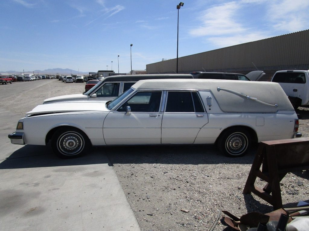 clean 1984 Buick Electra S & S HEARSE