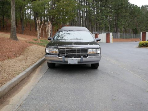 clean 1996 Cadillac Fleetwood Superior hearse for sale