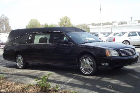 excellent Condition 2002 Cadillac Deville S&S Hearse for sale
