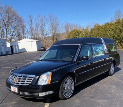 loaded 2007 Cadillac DTS Hearse for sale
