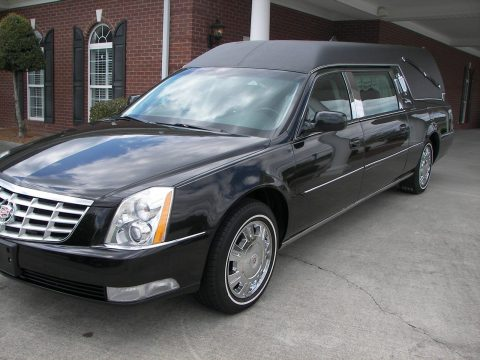 low mileage 2011 Cadillac S&S hearse for sale