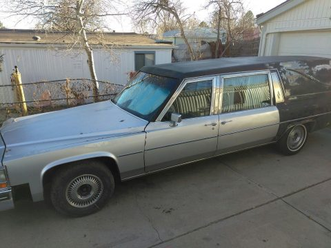 needs TLC 1981 Cadillac Fleetwood hearse for sale