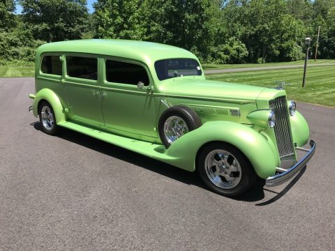 custom 1936 Packard Henney Hearse for sale