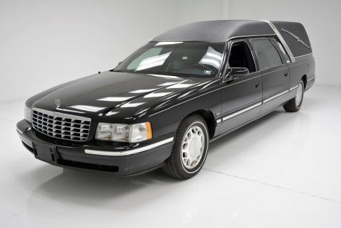 Excellent shape 1997 Cadillac DeVille hearse for sale