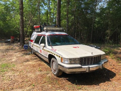 ghost busters 1993 Cadillac Hearse for sale