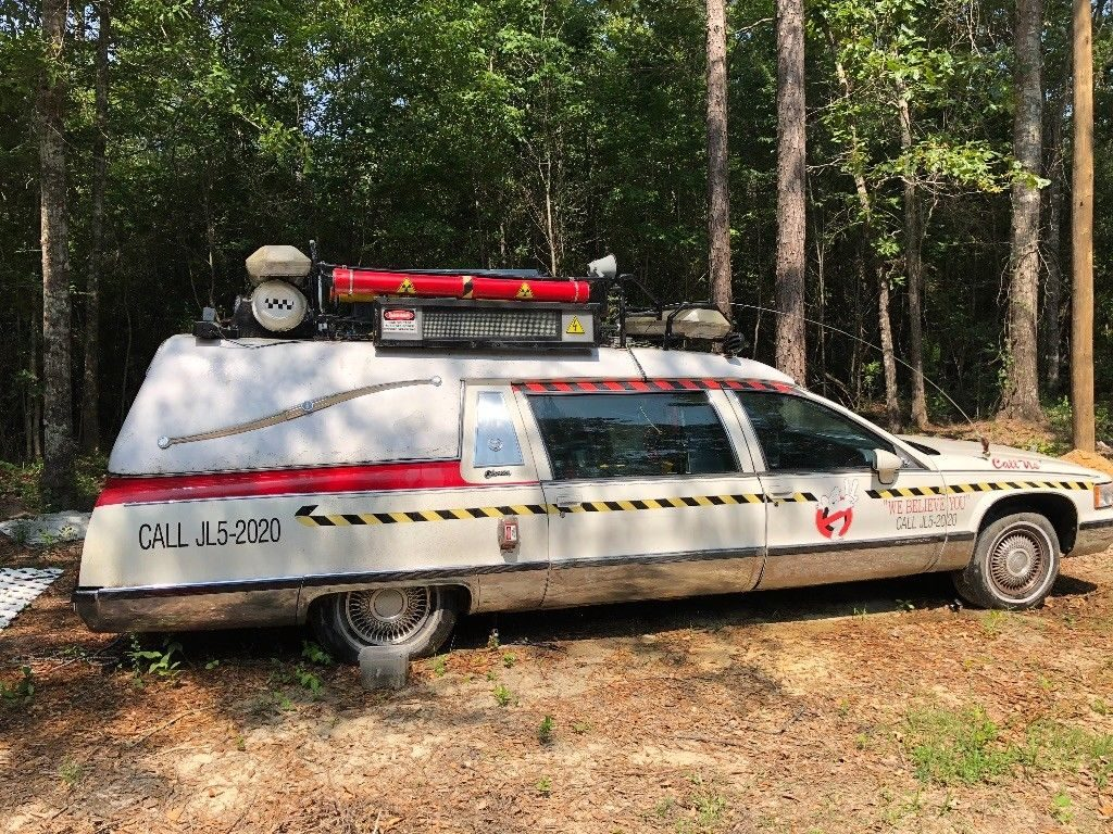 ghost busters 1993 Cadillac Hearse