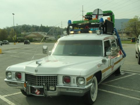 Ghostbusters 1971 Cadillac Fleetwood hearse for sale