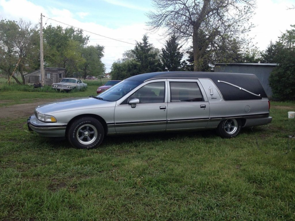 great shape 1992 Buick S&S Conversion Hearse