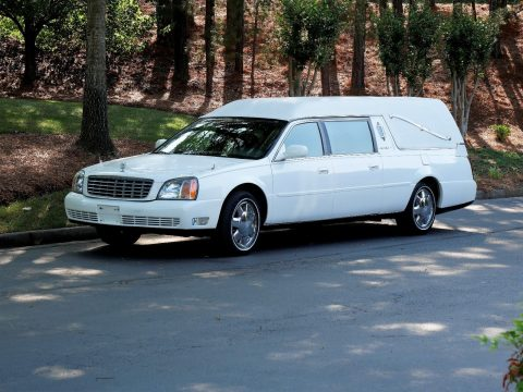 needs service 2000 Cadillac Deville Hearse for sale