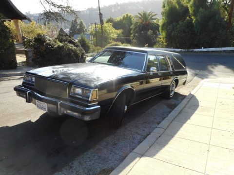 some issues 1985 Buick Estate Wagon Landau Funeral coach hearse for sale
