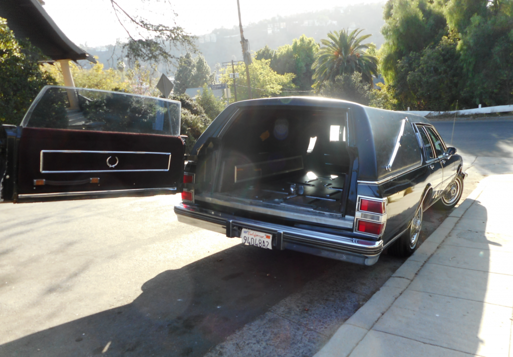 some issues 1985 Buick Estate Wagon Landau Funeral coach hearse