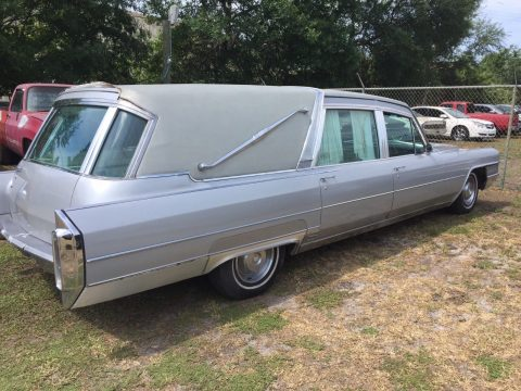 very rare 1965 Cadillac Superior Crown Sovereign Landau Hearse for sale