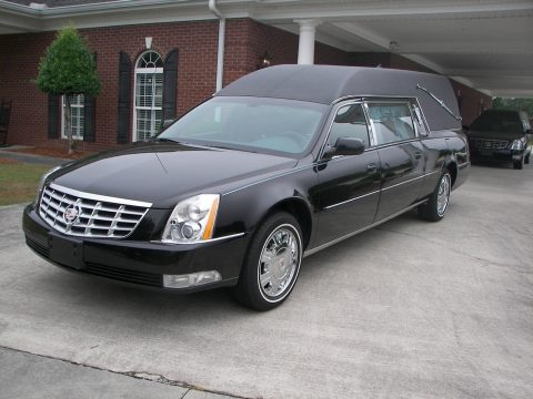 well maintained 2011 Cadillac DTS Hearse for sale