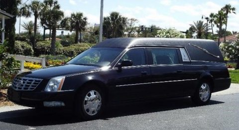 excellent shape 2011 Cadillac DTS Hearse for sale