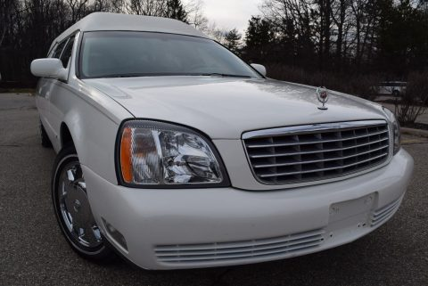 low mileage 2004 Cadillac Deville Hearse for sale