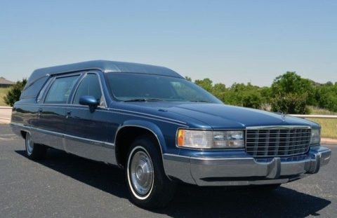 pristine shape 1993 Cadillac Fleetwood Superior Coachbuilders Custom Hearse for sale