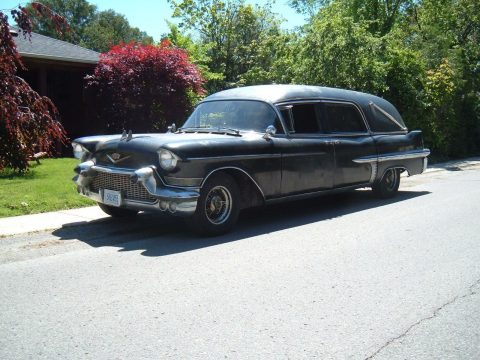 rare 1957 Cadillac eureka hearse for sale