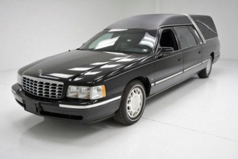 well maintained 1997 Cadillac DeVille hearse for sale
