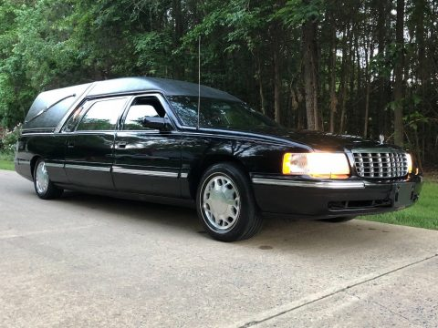 well maintained 1999 Cadillac Deville Hearse for sale