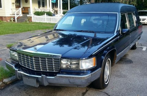 Customized 1994 Cadillac Fleetwood hearse for sale