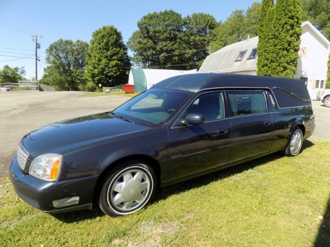low miles 2000 Cadillac Deville Hearse for sale